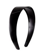 Black Plastic Headband