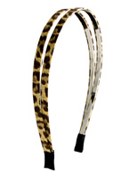 Double Leopard Premium Headband