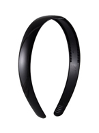 Thin Black Plastic Headband